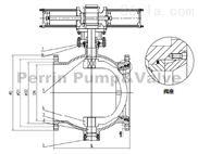 国标GB偏心半球阀生产研发