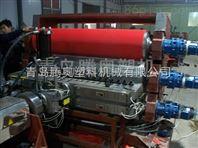 PVC壓花地墊生產線