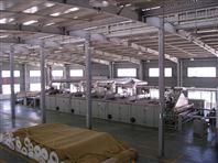 PVC发泡防滑垫生产线