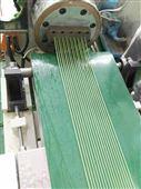 EPDM塑胶跑道造粒生产线,EPDM地坪颗粒挤出造粒机