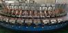 绿州机械专供PU摩托车座垫自行车座垫自动发泡生产线