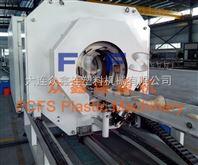 大连塑料管材PVC波纹管切割机