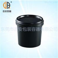 1L塑料油脂瓶 敞口压盖1000ML油墨罐桶 包装塑料瓶 厂家直销
