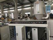 HDPE聚乙烯32-110盘管切割排污给水矿用管材挤出机生产线