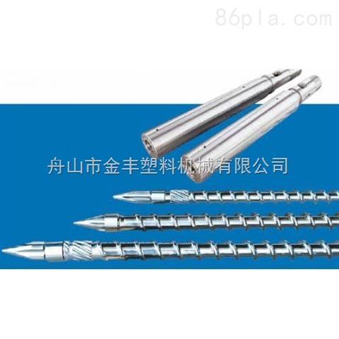 注塑機雙合金螺桿機筒的耐磨性