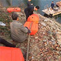 毛家河閘口攔污浮排取水口升降式浮筒裝置