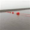 水庫攔船索浮筒水上攔垃圾網浮漂尺寸選型