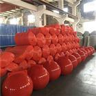 柏泰进水口拦漂装置塑胶拦污浮筒生产厂家