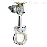 PZ943X/H/F型电动对夹式刀形闸阀