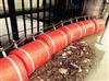 PE橡塑拦污浮箱生产厂家