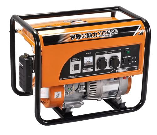 发电机/小型220v汽油发电机详解单相电机电容接线图